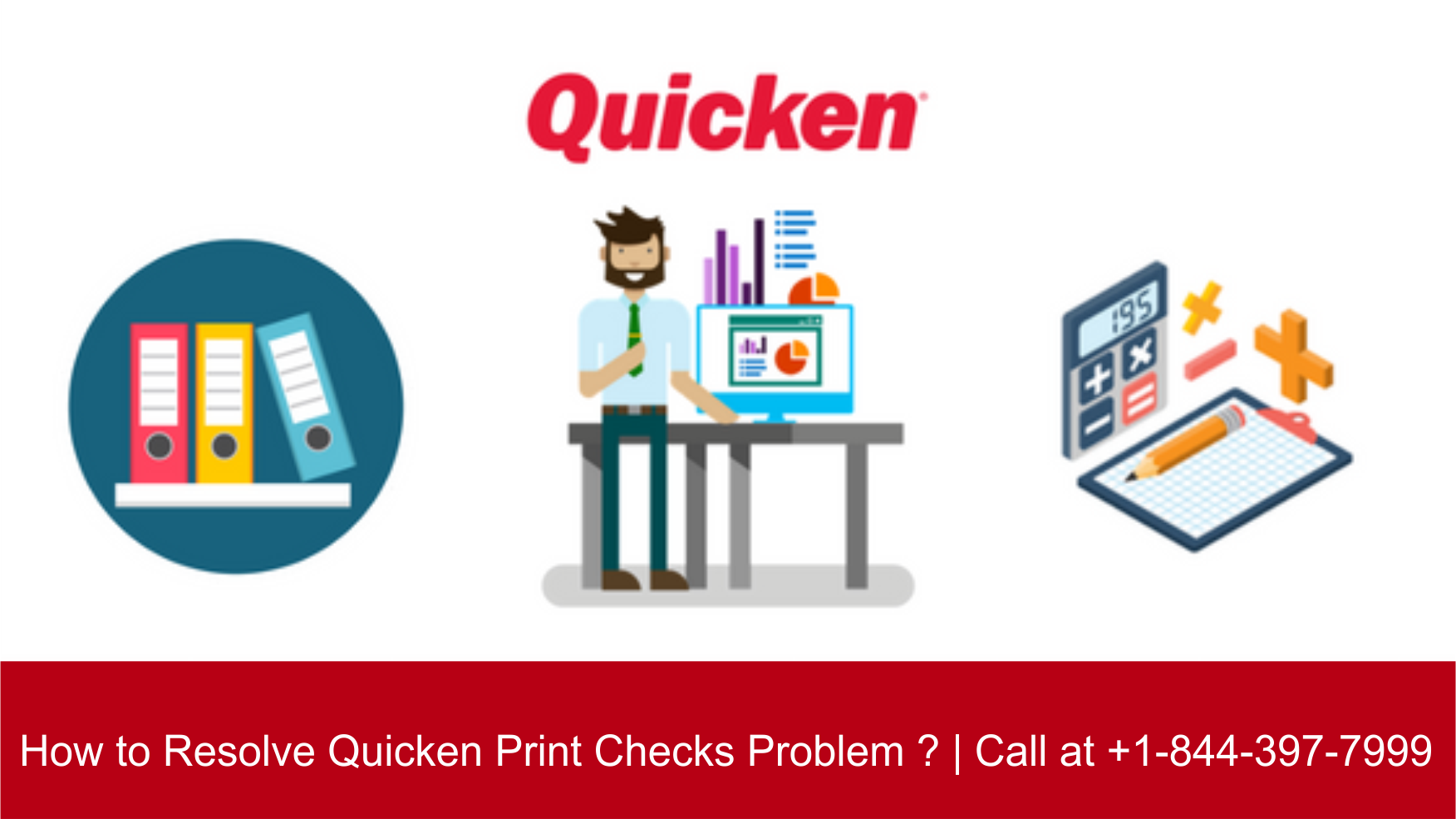 How to Resolve Quicken Print Checks Problem ? | Call at +1-800-986-6752