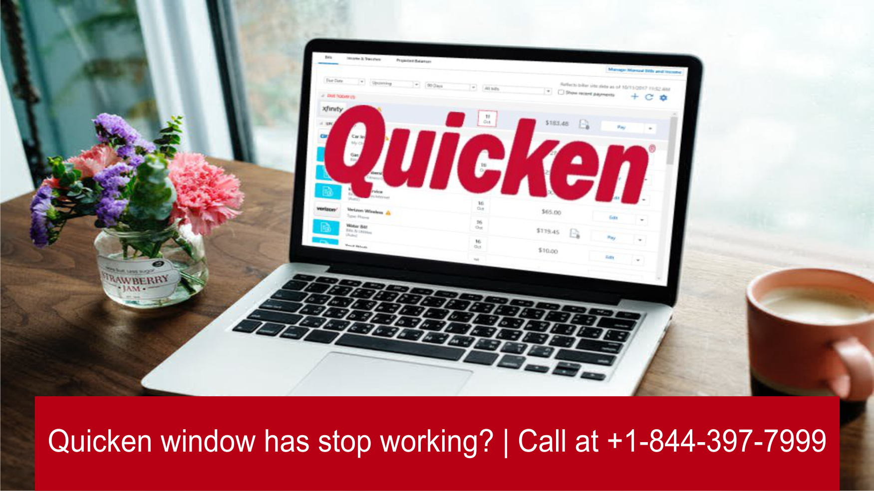 [Fixed] Quicken window has stop working? | Call at +1-800-986-6752